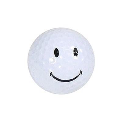 Golf Balls, Nitro Novelty Happy Face, 3 Pack