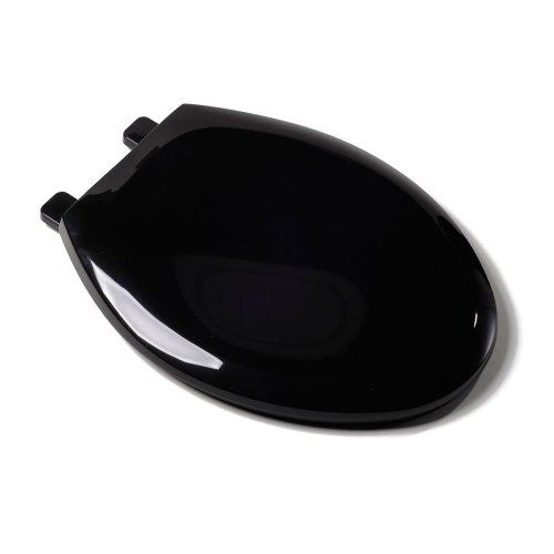 - Comfort Seats C1B3E4S-90 EZ Close Deluxe Plastic Toilet Seat, Elongated, Black