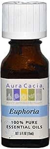 Aura Cacia, 100% Pure Essential Oils, Euphoria.5 fl oz (15 ml)
