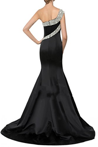 Fuchsia Gorgeous Shoulder Mermaid Avril Dress Prom the Off Satin Evening Dress Beading B5qwPS