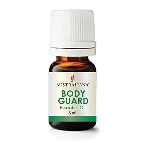 Australiana Botanicals BODY GUARD Essential Oil Blend 5ml – Boost Immune System during Flue Seasons, Brain Function and Skin – Improve Mental Performance, Supports liver function & respiratory system