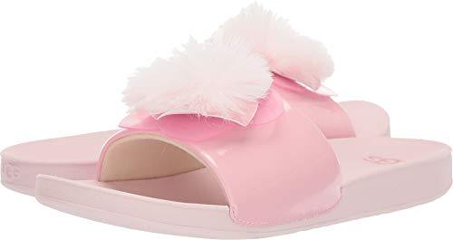 UGG Girls' K Cactus Flower Slide Sandal, Seashell Pink, 12 M US Little Kid