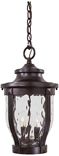 Minka Lavery 8764-166 3 Light Chain Hung Lantern, Corona Bronze Finish ()