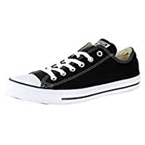 Girls Converse All Stars (Converse Unisex Chuck Taylor All Star Low Top Black Sneakers - 4 M US Big)