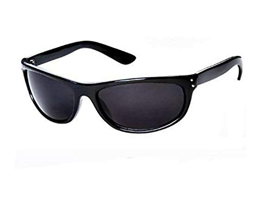 Super Dark MIB Sunglasses Classic Black SD Lens Max UV ()
