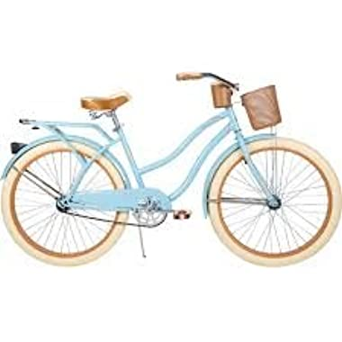 26  Huffy Nel Lusso Women's Cruiser Bike, Gloss Blue