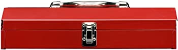 Stack-On R-515 15-Inch Household/Project Steel Tool Box, Red