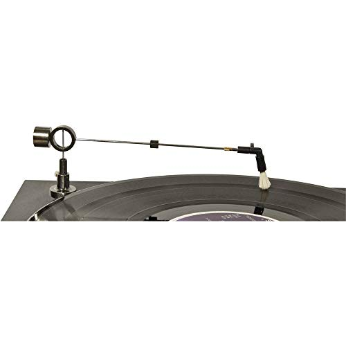 Droogreinigingsarm 1 stuk(s) Analogis analogis Vinyl Reinigungsarm mit abnehmbarer Ziegenhaar-/Carbonbürste