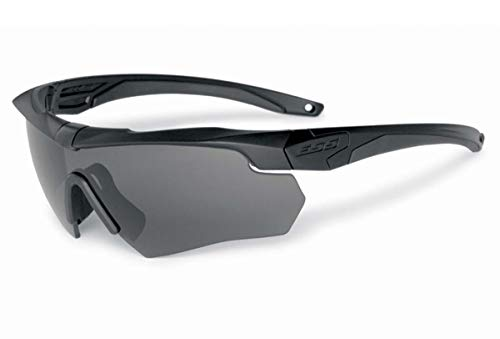 Ess Gray Safety Glasses, Scratch-Resistant, Wraparound