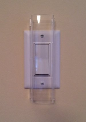 Child Proof Light Switch Guard For Decora Rocker Style