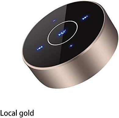 携帯用サブウーファーの無線電話アンプのスピーカーの小型スピーカーのブルートゥースのスピーカー (色 : Local gold)