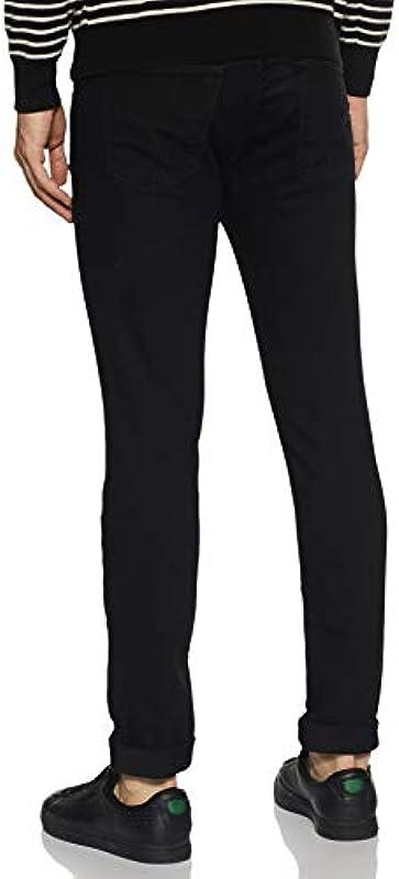 Gas Jeans Męskie Sax Zip Skinny Jeans: Odzież