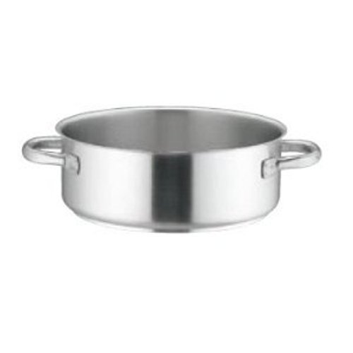Mauviel M'Basic Rondeau 28 Cm Without Lid (Handle: Stainless Steel)