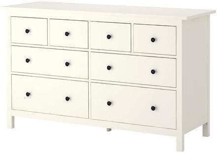 Amazon Ikea 8 Drawer Dresser White 22852620210 Kitchen Dining