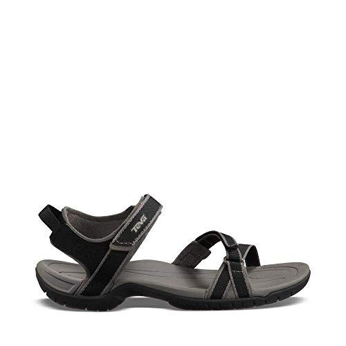 Sandals Black Studio Heels Womens (Teva Women's Verra Sandal, Black, 8 M US)