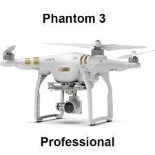 DJI Phantom 3 Professional Quadcopter Drone with 4k UHD Video Camera -  Genric