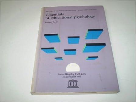 Télécharger un livre électronique à partir de livres google Essentials of Educational Psychology (Educational Sciences Series) 1853020540 en français PDF PDB CHM