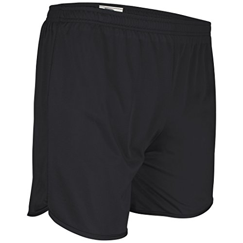 Men's Athletic Gym Shorts for Running, Cycling, Yoga, and Sports TR-403 Black