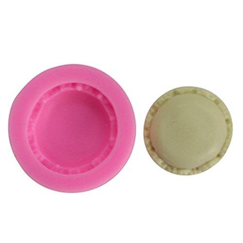 1CM Doitsa 1pcs DIY Moule /à P/âtisserie de Cuisine en Silicone Macaron pour D/écoration de G/âteaux Rose 5 Fabrication de Dessert Candy Chocolate Fondant 5
