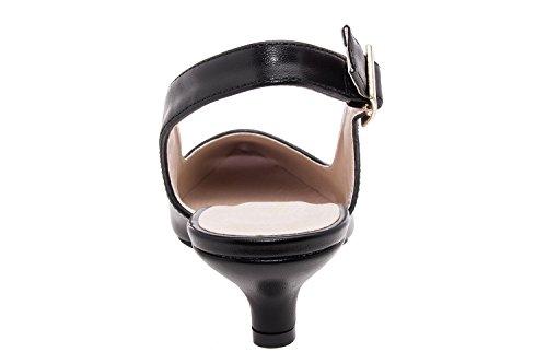Andres Machado.AM521.Salon Destalonado Soft.Mujer.Tallas Pequeñas/Grandes. 32/35-42/45. Negro
