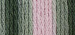 Sugar'N Cream Yarn - Ombres Super Size-Pink Camo (Pink Camo Baby Yarn)
