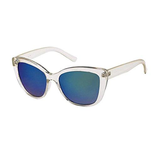 Chic-Net Gafas de sol Cateye del gato del ojo de vidrios 400 ...