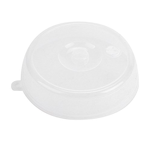 Food Cover Microwave Oil Cap Heated Sealed Cover Kitchen Tool, 23x23x5.5cm