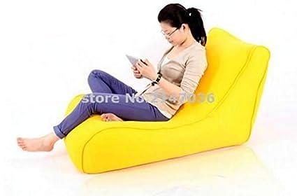 Strange Amazon Com Azboutique Yellow Large Bean Bag Cover Flush Uwap Interior Chair Design Uwaporg