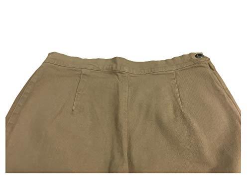 Jeans Fondo Persona Elastan Tessuto 19 4 Beige Pantalone Donna Rinaldi Laterale 96 Cotone Fato Mod Abbottonatura By Marina Cm qwzOH