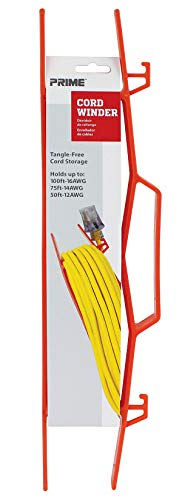 (Prime Wire & Cable CA002000 Cord winder, Orange )