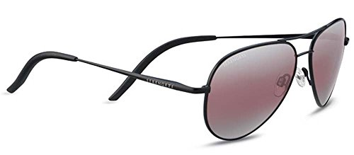 Serengeti Carrara Small Sunglasses Satin Black, - Sunglasses Men For End High