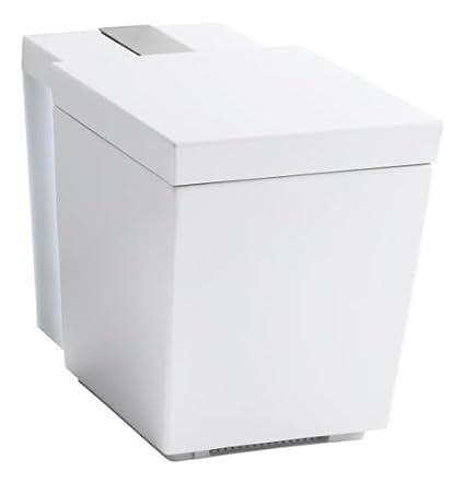 KOHLER K-3900-0 Numi Comfort Height One-Piece Elongated Toilet ...