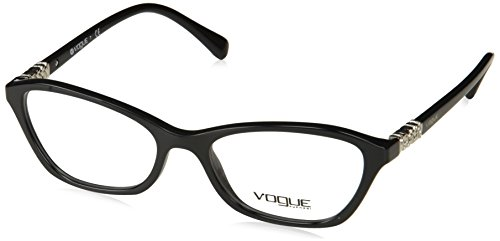 Vogue VO5139B Eyeglass Frames W44-52 - Black - Eyeglass Vogue