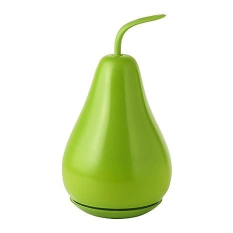 Ikea Solvinden Lampe Solaire En Forme De Poire Vert Amazon Fr