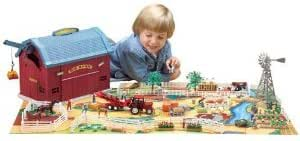 Amazon Com Big Barn Playset Toys Amp Games