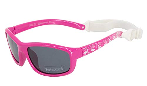 JAN & JUL Girls UVA UVB Protection Flexible Sun-glasses (M: 6m-6Y, ()