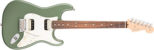 Fender American Professional HH Shawbucker Stratocaster - Antique Olive with Rosewood Fingerboard