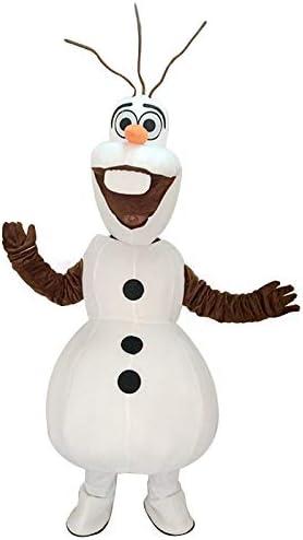 rushopn Cute Frozen Olaf muñeco de Nieve Mascota Disfraz: Amazon ...