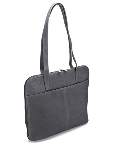 Le Donne Leather Company LD-8042-Gray Handbag by Le Donne Leather