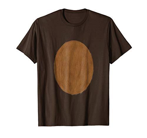 Deer Belly Tshirt Halloween Costume Rudolph DIY Shirt ()