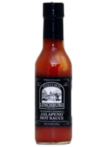 Historic Lynchburg Tennessee Whiskey Jalapeno Hot Sauce (Pack of 3)