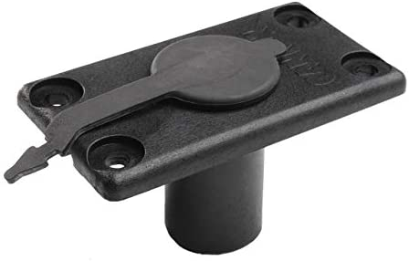 Cannon Flush Mount Rod Holder with Cover