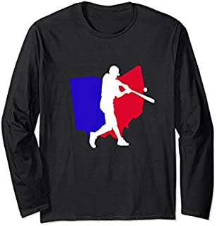 Vintage Cincinnati OHIO Baseball Long Sleeve T-shirt | Size S - 5XL