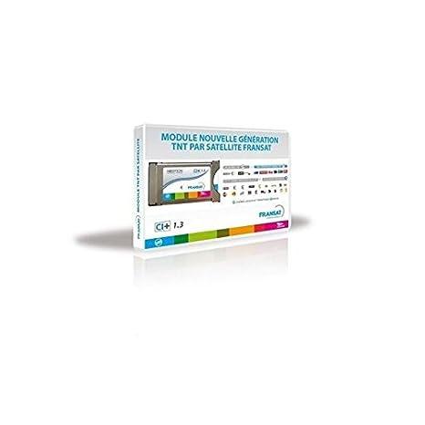 Neotion ACY-MCVF-0302 - Receptor satélite módulo PCMCIA Fransat 1,3 Ci+, Color Blanco (Importado)