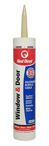 red-devil-084620-window-door-siliconized-acrylic-caulk-101-ounce-almond