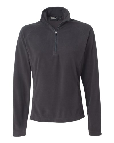 Dri Duck 9397 Ladies' Fusion Fleece Jacket - Charcoal - M (Womens Fusion Jacket)