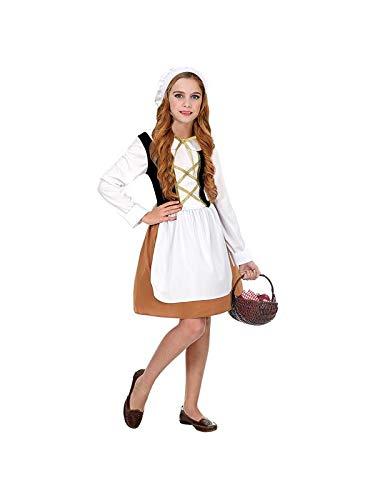 WIDMANN Srl disfraz Medieval para niña, Multicolor, wdm06616 ...