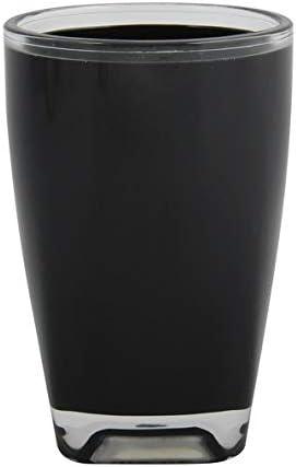 MSV Spirella Zahnputzbecher Zahnb/ürstenhalter Tahiti 7,5x11,5 cm Acryl Hellblau