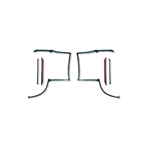 Eckler's Premier Quality Products 75328592 Firebird T Top Weatherstrip Kit 6 (T-top Weatherstrip Kit)