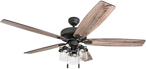 Prominence Home 51042-01 Lavante Ceiling Fan, 60, Bronze